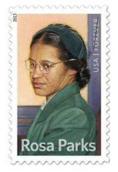 Rosa Parks Stamp Montgomery Alabama